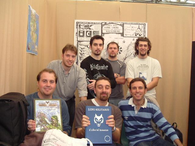 """Il gruppo de """"Il mondo dei Librogames"""""""