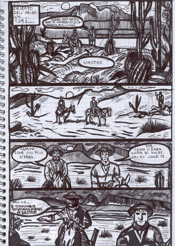 Western - Story-Board