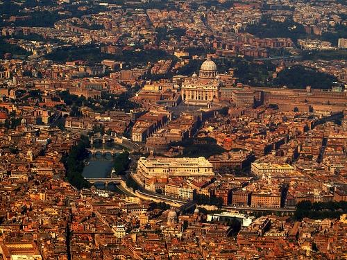 secoli di storia............visti dall'aereo