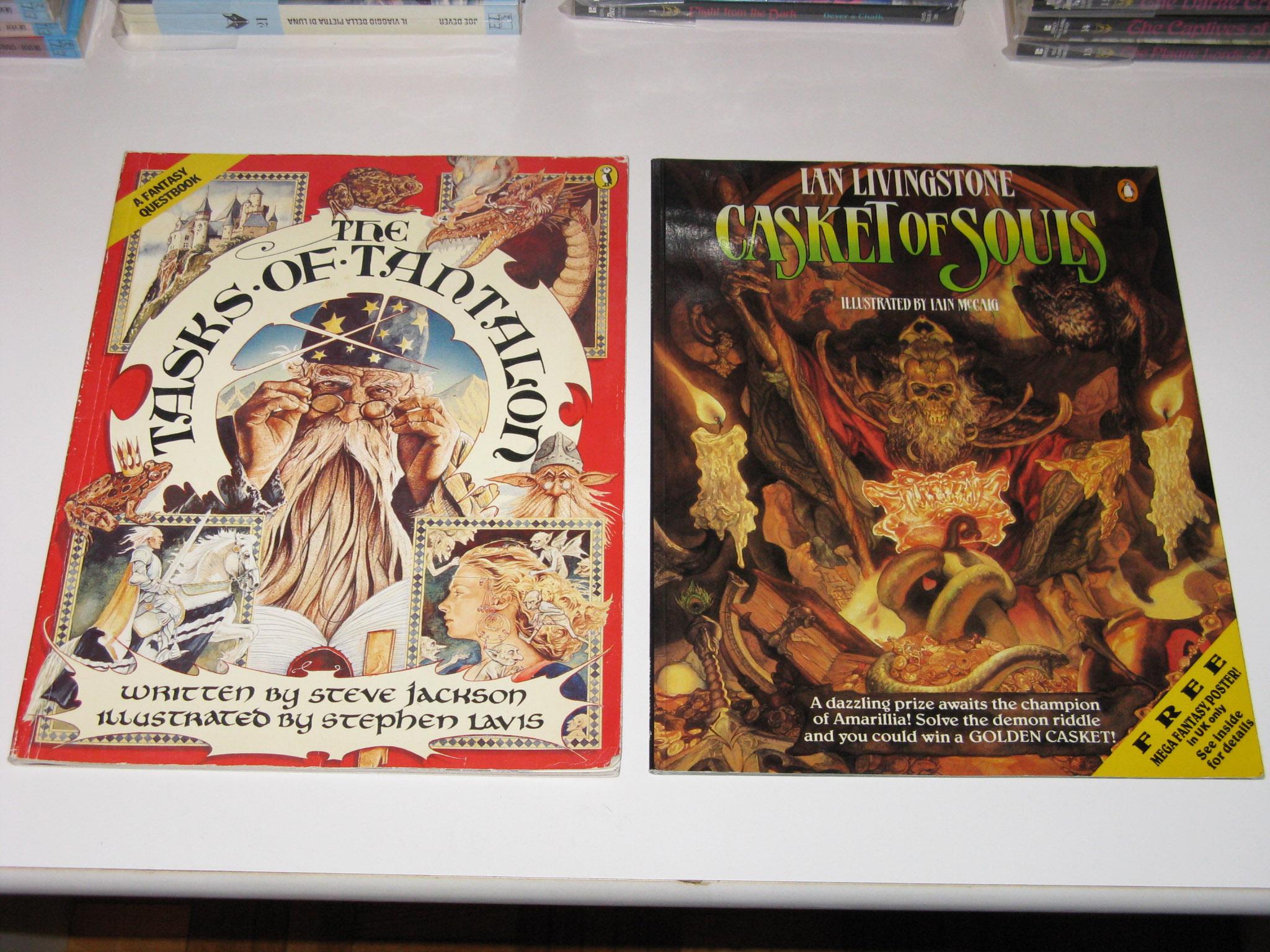 The Tasks of Tantalon + Casket of Souls